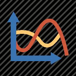 analysis, assay, breakdown, chart, circle, curve, diagram, figure, grapes, graph, graphs, parsing, pattern, plot, scan, schedule, test, timetable icon