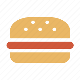 beefburger, bread and butter, burger, butty, diet, dodger, eating, fare, fast, fast food, fastfood, feed, food, hamburger, hotdog, kitchen, meal, meat, nourishment, nutrition, restaurant, saloon, sandwich, wad icon