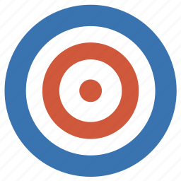 ads, aim, bullseye, circles, dart, darts, donuts, goal, object, objective, purpose, target icon