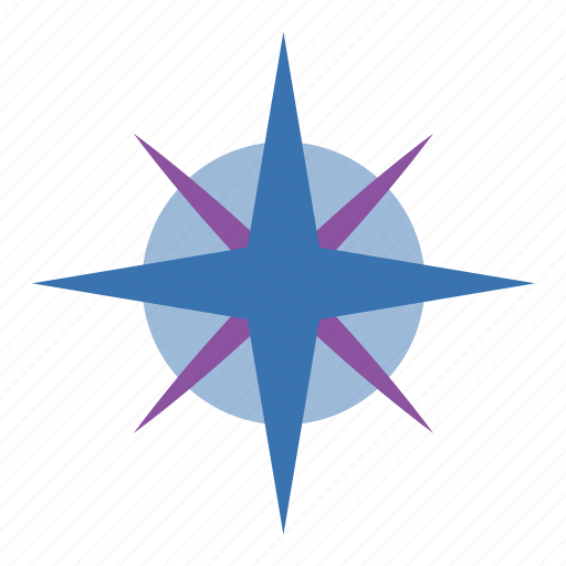 breeze, chart, climatology, compass rose, diagram, direction, directions, map, meteorology, nato, rose, star, weather, wind, wind rose icon