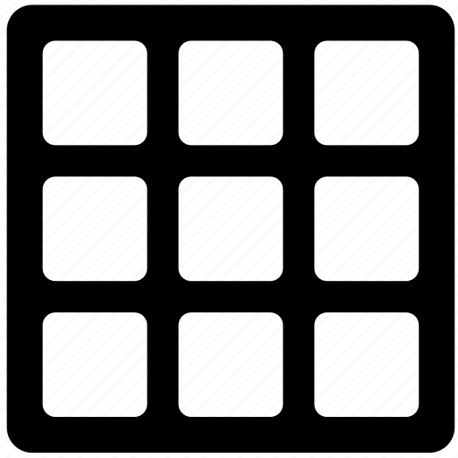 cells, grid, layout, layouts, snap, table, window icon