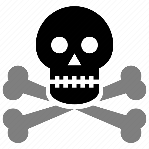 alert, attention, braincase, brainpan, cranium, danger, dead, death, death's head, error, evil, exclamation, face, halloween, head, jaw, pericranium, pirate, poison, scool, skeleton, skull, solution, suicide, toxic, warning icon