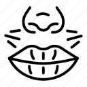 hair, lips, near, removal, vector, yul910 icon