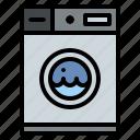 laundry, machine, tips, washing icon