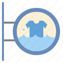 label, shirt, shop, washing icon