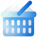 basket, laundry, washing icon