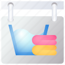 laundry, sign, washing icon