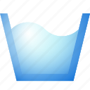 laundry, washing, water icon