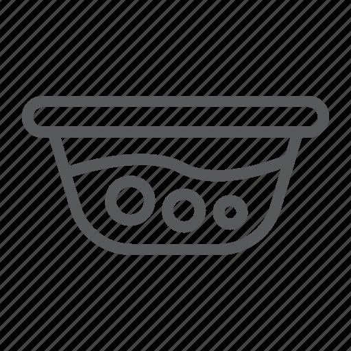 basin, clean, laundry, wash, washbowl, water icon