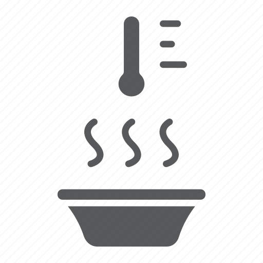 apparel, heat, hot, temperature, thermometer, water icon