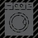 housekeeping, laundry, machine, wash, washer, washing icon