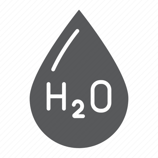 chemical, drop, formula, h2o, water icon