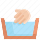clean, cleaning, hand wash, hygiene, laundry, washing, water icon