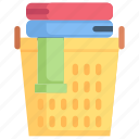 cleaning, clothes, dirty, hygiene, laundry, laundry basket, washing
