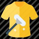 cleaning, dress, eraser, shirt, tshirt, wear