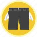 empty, jean, pants, pocket, shorts, wash icon