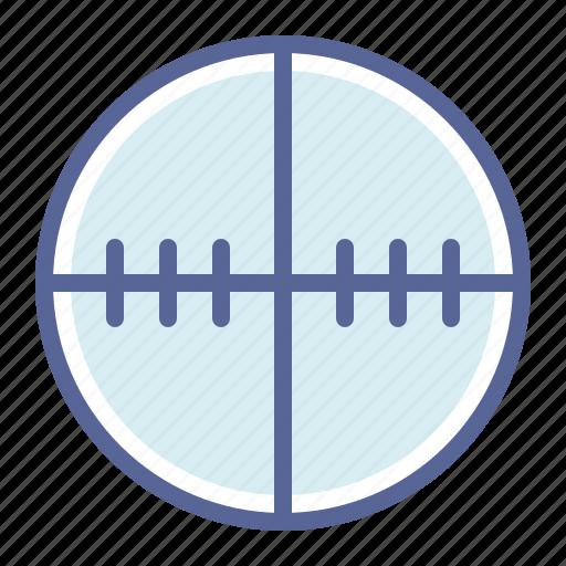 Crosshair, gun, shoot, target icon - Download on Iconfinder