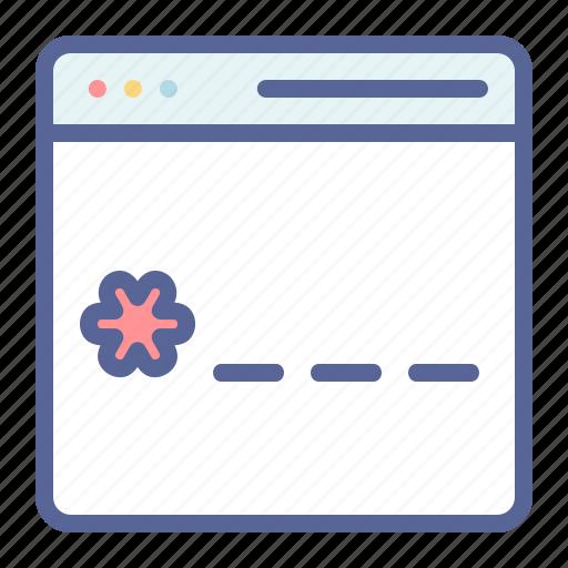 cyber, digital, password, pin icon