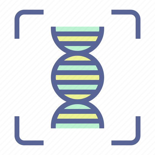 Dna, forensic, helical, helix icon - Download on Iconfinder
