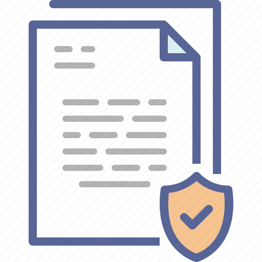 confidential, document, paperwork, security icon