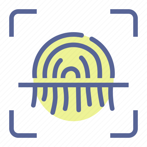 Biometric, fingerprint, scan, security icon - Download on Iconfinder