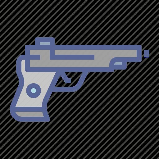 Gun, pistol, shoot, weapon icon - Download on Iconfinder