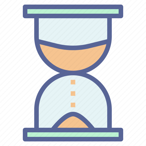 Clock, hourglass, sand, timer icon - Download on Iconfinder