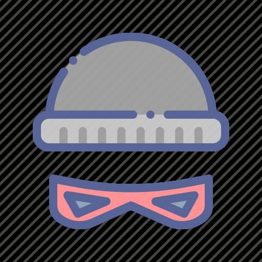 Beanie, burglar, robber, thief icon - Download on Iconfinder