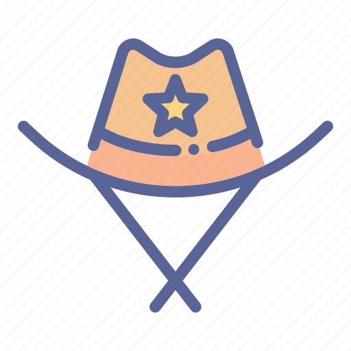 Cowboy, hat, police, sheriff icon - Download on Iconfinder