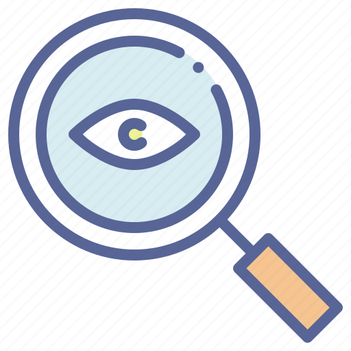 Detective, eye, magnifying, spy icon - Download on Iconfinder
