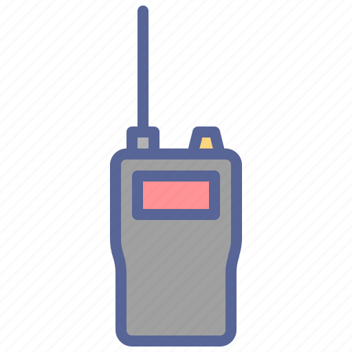 communication, radio, talkie, walkie icon