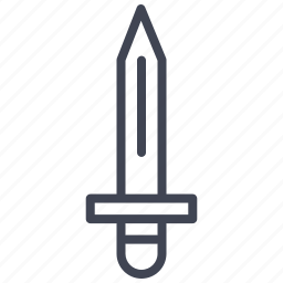blade, crime, knife, law, tool, weapon icon