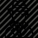 avatar, crime, criminal, detective, justice, law, user