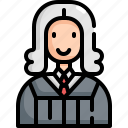 avatar, crime, criminal, judge, justice, law, user icon
