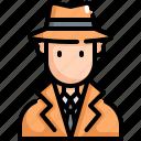 crime, criminal, detective, justice, law, security, spy icon