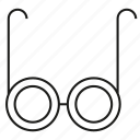 eyeglass, eyesight, eyewear icon