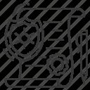 legal paper, pen, seal, shield icon