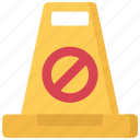 cone, enforcement, law, police, policing, warning icon