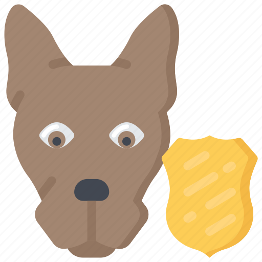 animal, dog, enforcement, law, police, policing icon