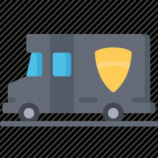 enforcement, law, policing, swat, van, vehicles icon