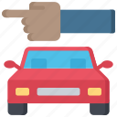 car, direction, enforcement, law, policing, traffic icon
