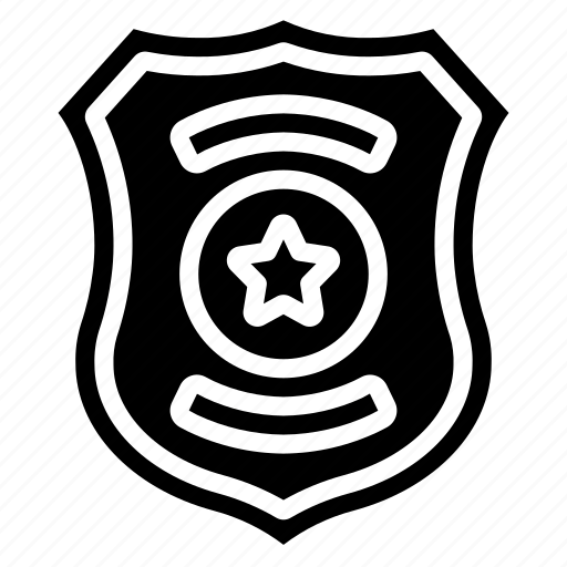 badge, enforcement, law, police, policing, shield icon