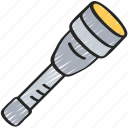 enforcement, law, police, policing, tactical, torch icon