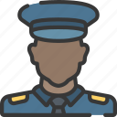 enforcement, law, male, officer, police, policing icon