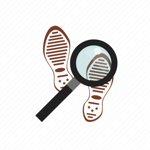 Clue, law, search, shoe icon - Download on Iconfinder