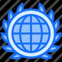 global, world, badge, achievement