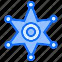 jail, police, star, sheriff