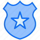 badge, sheriff, justice, star