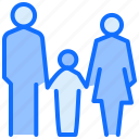 parents, children, family, people