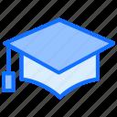 graduation, cap, education, learn